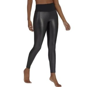 Assets by spanx Faux leather leggings Large